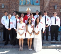 View the album Confirmandi and First Communicants